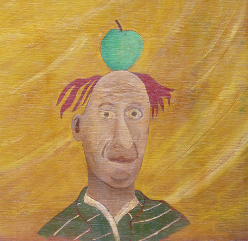 Dean Manning Apple Man Painting